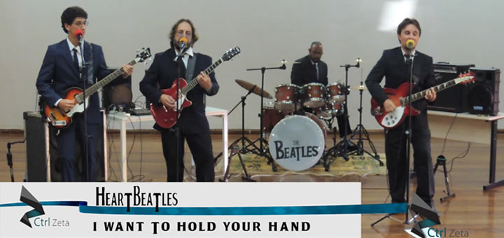 [HeartBeatles] I Want To Hold Your Hand – English Day
