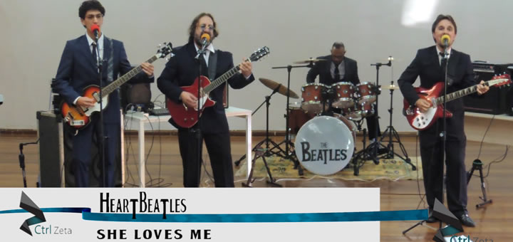 [HeartBeatles] She Loves Me – English Day
