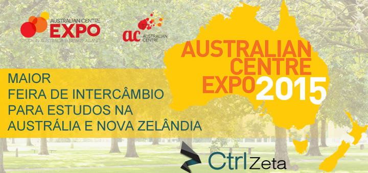 Australian Center Expo 2015 Feira de Intercâmbio