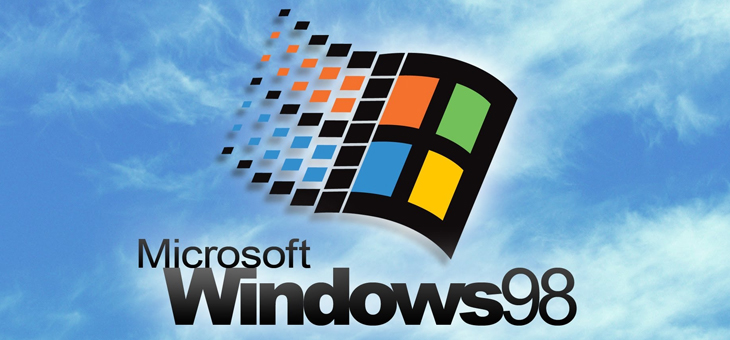 Windows 98 é emulado em maquina virtual