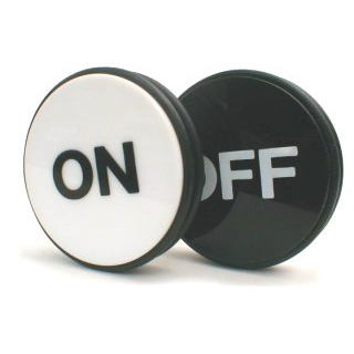 Mundo conectado puck on/off
