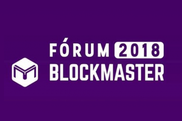 Logo do fórum blockmaster 2018